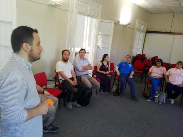 Workshop tejeRedes en Rancagua