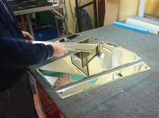 Κατασκευή καθρέπτη Art-Deco