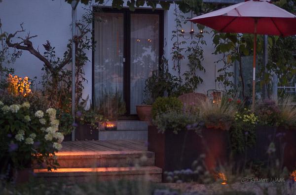 Laue Sommernacht - mit Gartenbeleuchtung noch mal so schön!