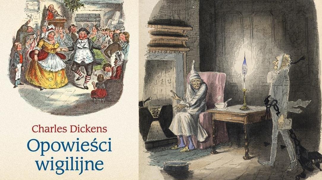 """O magii świąt. """"Opowieści wigilijne"""" Charlesa Dickensa. Tomy 1-2"""