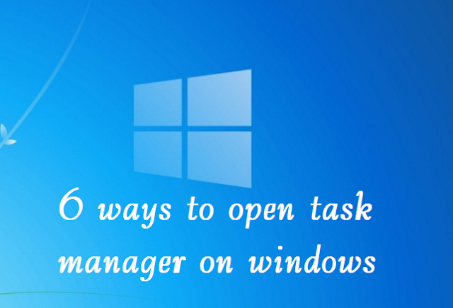6 Ways to Open Task Manager on Windows