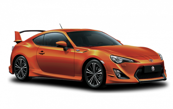TOYOTA FT86 ORANGE METALLIC