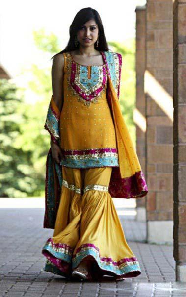 Beauty Tips Mehndi Sharara