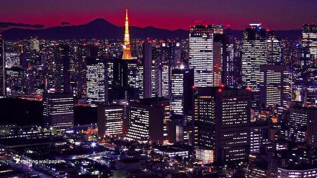Tokyo City Wallpaper 1920x1080