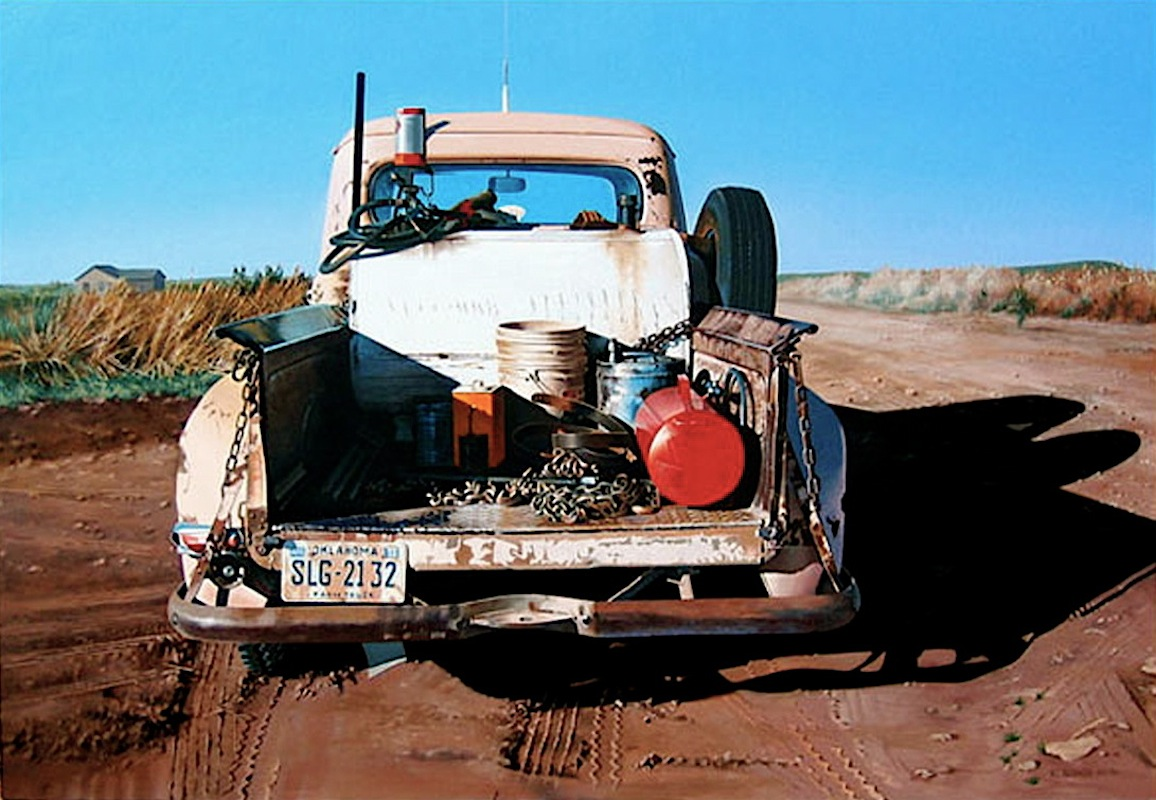 10-Shanna-s-Pickup-Ralph-Goings-Hyper-Realistic-Paintings-of-Everyday-Scenes-www-designstack-co