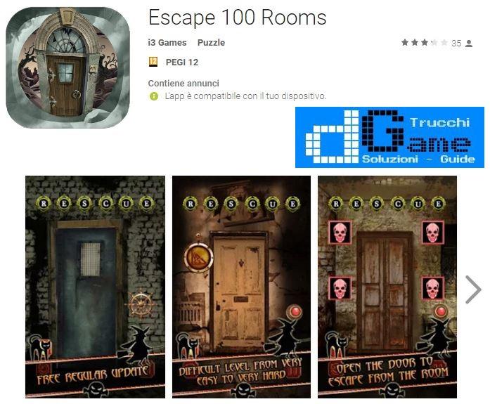 Soluzioni Escape 100 Rooms