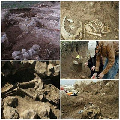 Πανυψηλος σκελετος και αρχαίος θησαυρός ανακαλύφτηκαν στο Ιράν.