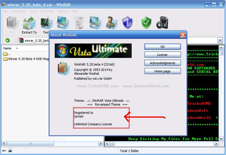 WinRAR 5 2 beta 4 With Crack Full Version Free Download   Internet