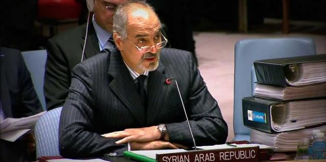 الجعفري سورية مستمرة في حربها على الإرهاب ولن تتوقف تحت تأثير أي ابتزاز (فيديو)