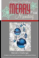 http://merrymondaychristmaschallenge.blogspot.com/2014/11/merry-monday-134-ornaments.html