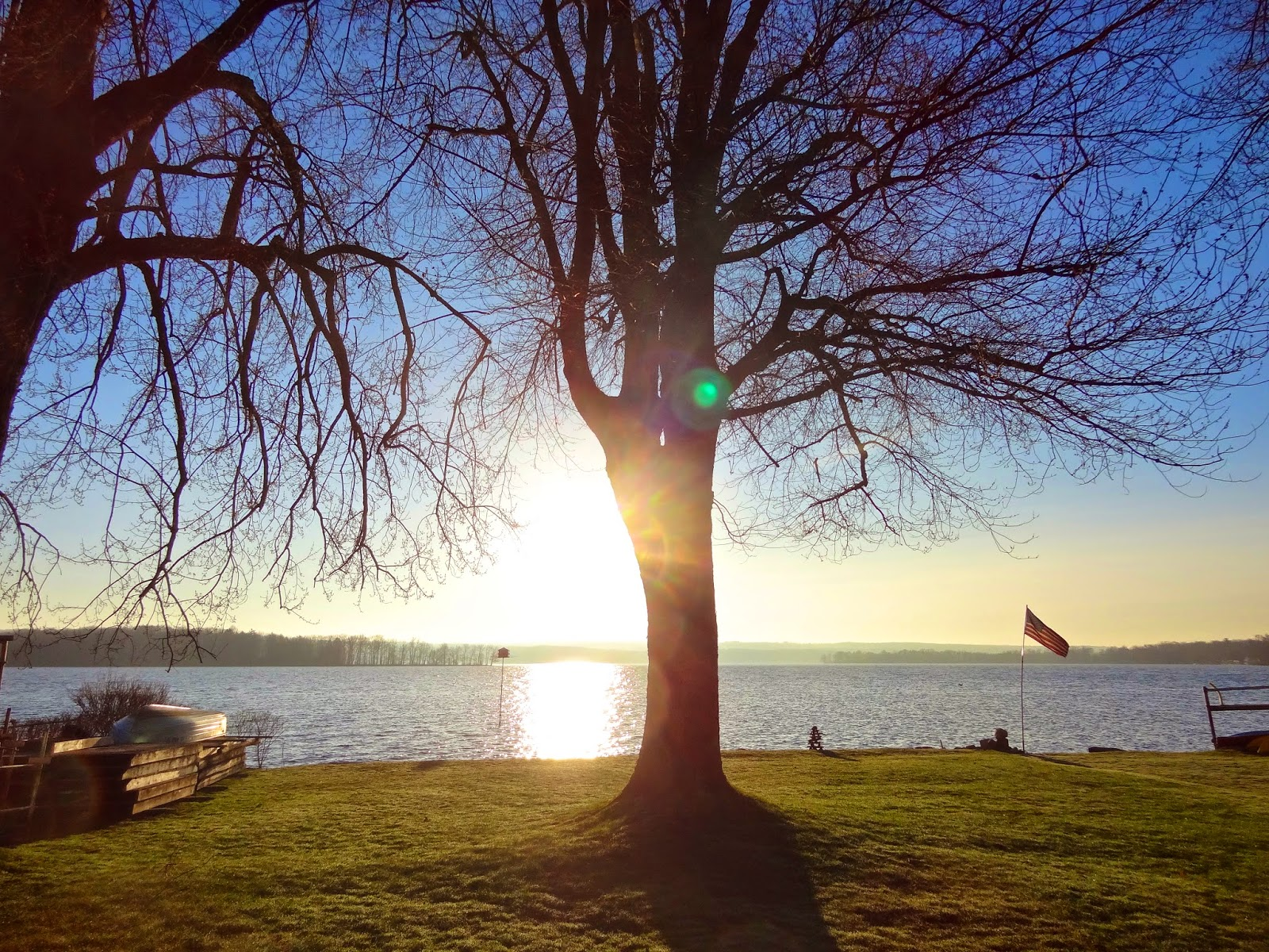 EARLY RISING ON CHAUTAUQUA LAKE: Another Crisp, Bright And ...