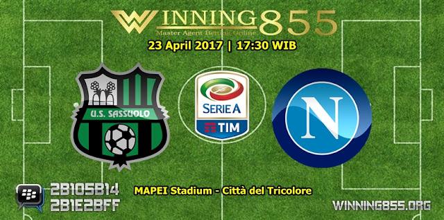 Prediksi Skor Sassuolo vs Napoli