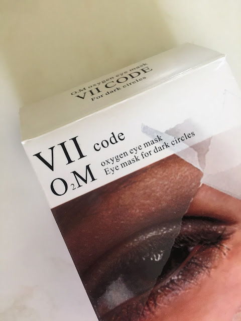 Trying VIIcode O2M Oxygen Eye Mask