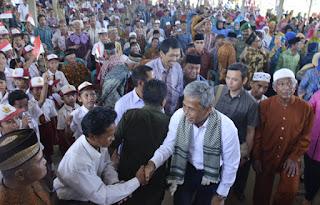 Bupati OKI Ajak Warga Cegah Karhutla, Saat Sambangi Warga di Desa Terpencil