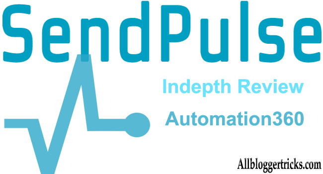 SendPulse Email Marketing with AI and Automation 360 for Blogs