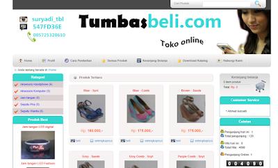 Aplikasi Toko Online Fashion Berbasis Web Siap di Gunakan – Gratis