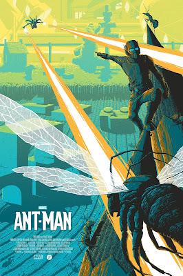 Ant-Man Variant Edition Marvel Screen Print by Florey x Grey Matter Art