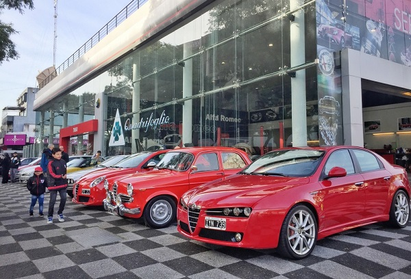 Alfa Romeo Argentina celebró el 107° aniversario de la firma italiana
