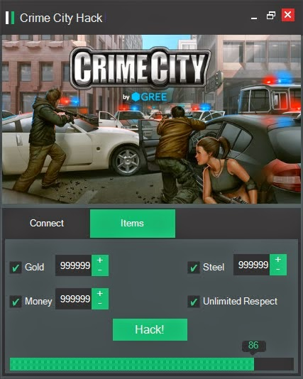 CRIME CITY CHEATS HACK Gold Hack Add Unlimited Cash Hack