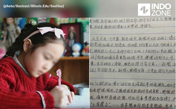 Dari Bisnis Sampingannya Gadis 13 Tahun Dapat Uang 21 Juta Ketika Liburan Sekolah Imlek