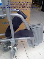 bagian kaki kursi roda Icare