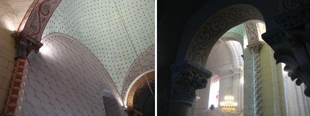 Abadia de Sent Sever: detalls de l'interior