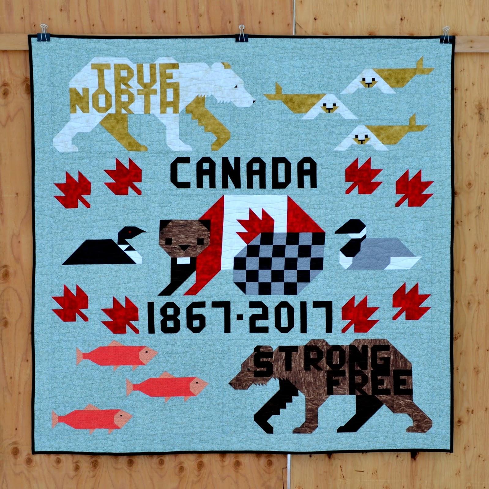 Sew Fresh Quilts: Canada 150 - Lap Quilt : quilts canada - Adamdwight.com