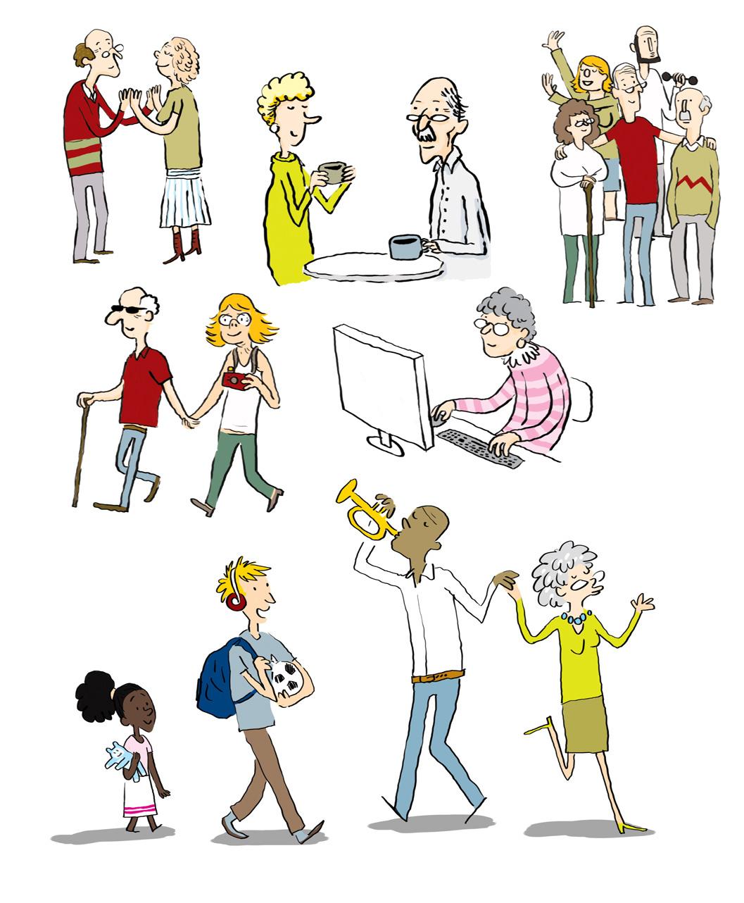 Unique Grandbarbu: Ohhh des dessins de personnes agées !! ZE04