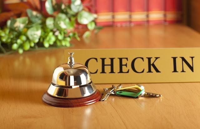 Check in nos hotéis da Itália
