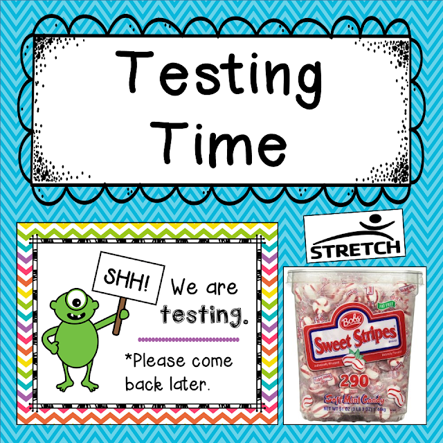 This post has great testing advice and an adorable testing sign (free download).