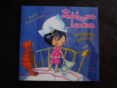 Królenka Lenka przegania strachy, książka pomagająca poradzić sobie ze strachem