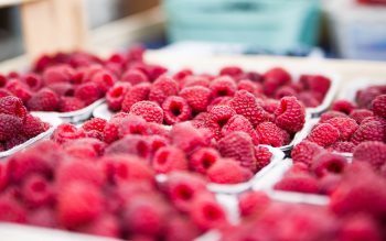 Wallpaper: Tasty Fruits Raspberries