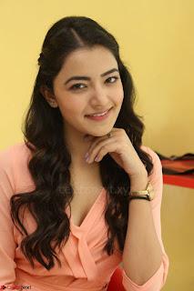 Rukshar Mir in a Peachy Deep Neck Short Dress 049.JPG
