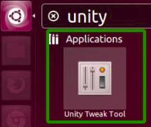 Gambar Unity Tweak Tool