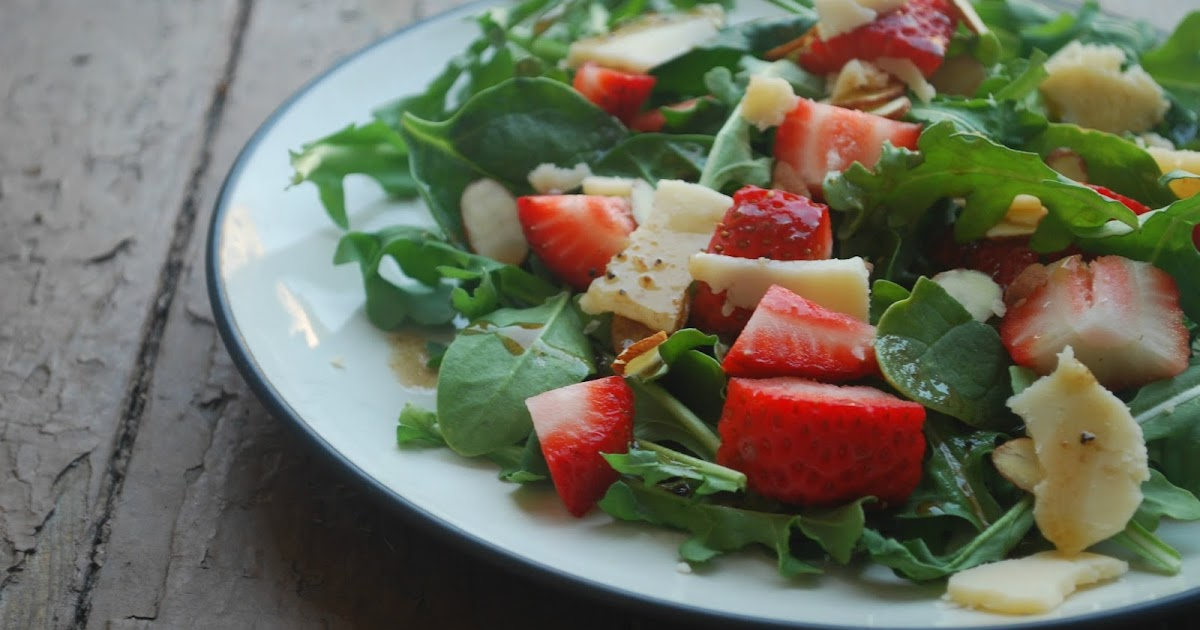 A Simple Summer Strawberry Salad