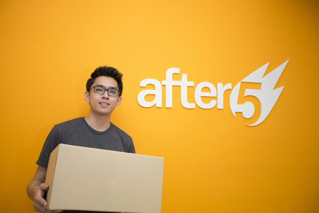 Founder and CEO of After 5, Arvin Loh