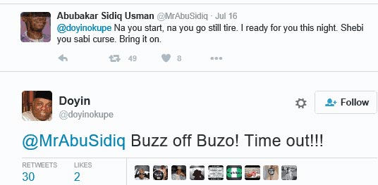 Karma? See what Doyin Okupe tweeted to Abubakar Sidiq Usman weeks before his arrest