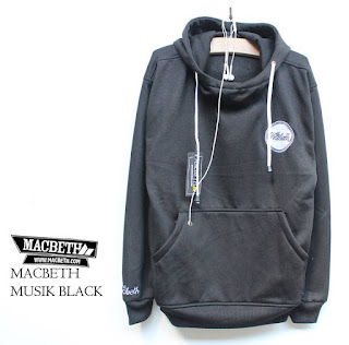 Jaket Fleece Hoodie Macbeth MAC017