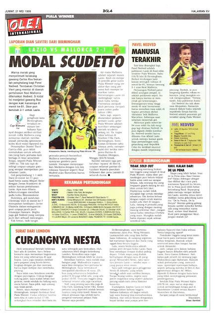LAZIO VS MALLORCA 2-1 MODAL SCUDETTO
