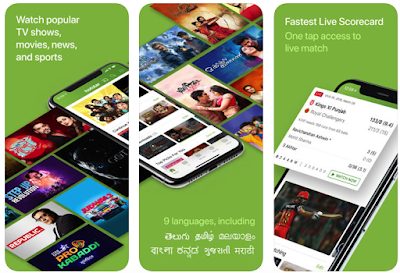 Hotstar to watch live tv channels, movies and tv shows