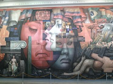 Mural de Jorge Gonzalez Camarena