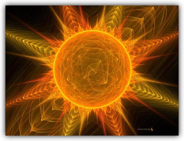 Sun with Fractal Rays
