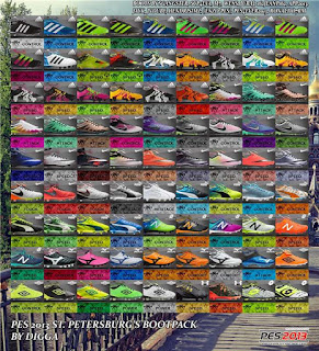 New Bootpack 2016-2017 Pes 2013
