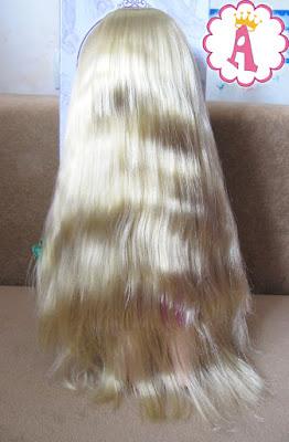 Длинные волосы игрушки Рапунцель из серии кукол Disney Animators Collection