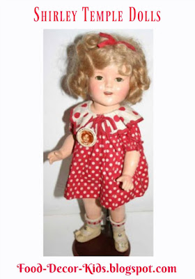 Shirley Temple Dolls food-decor-kids.blogspot.com