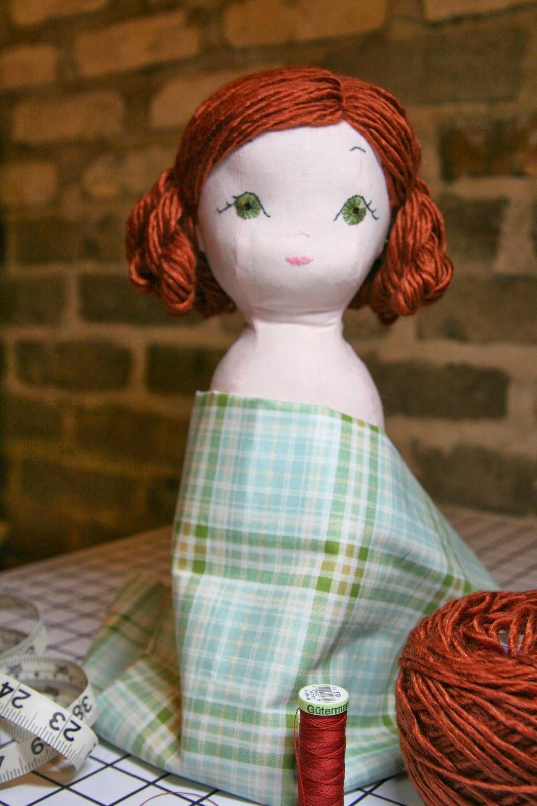 Gray Gables: Doll Making Continued - Doll Hair