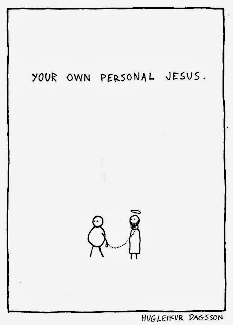 Your own personal Jesus cartoon