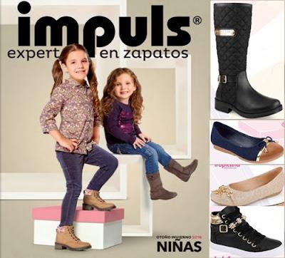 zapatos para niñas de impuls oi