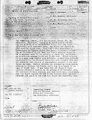 OSI Report Re UFO Over Long Beach & Muroc, California (Pg 1) 10-25, 26, 30-1951