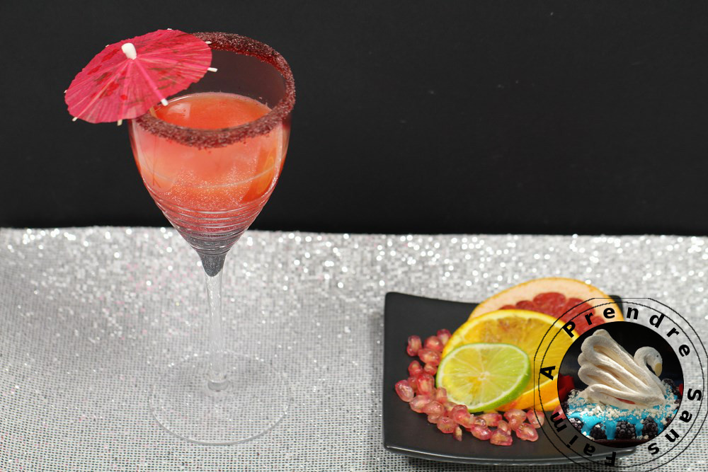 Cocktail acidulé avec Magimix